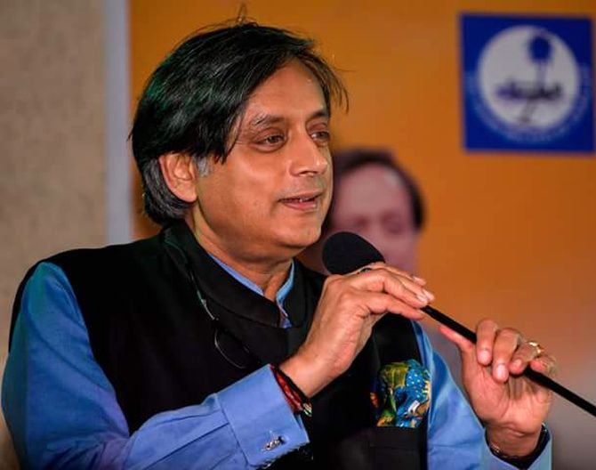 Didn't pay attention in history class: Tharoor on Shah