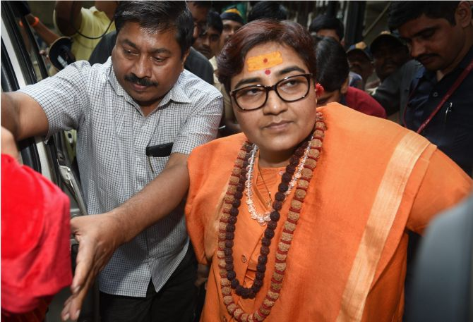 Row over Pragya Thakur's name in defence panel