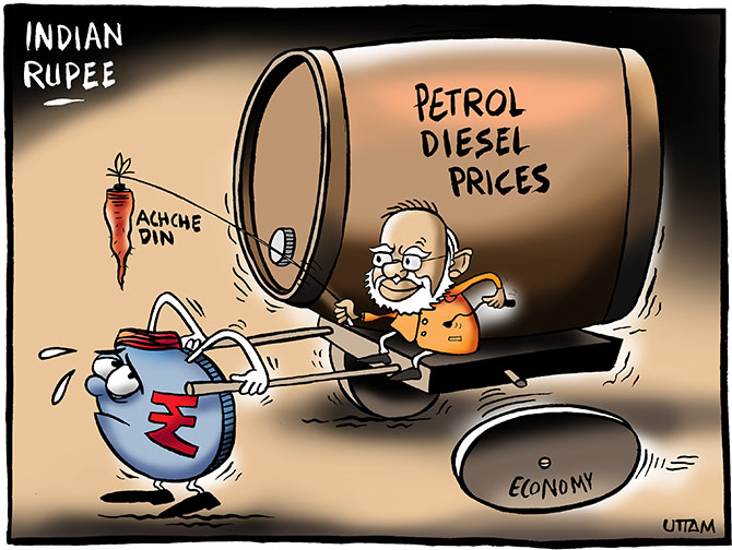 3 reasons why fall in crude prices won't benefit India - Rediff ...