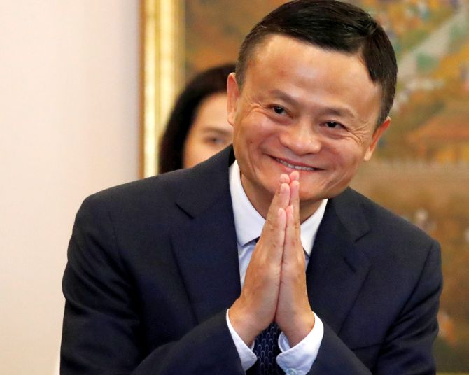 Jack Ma steps down as chairman of Alibaba group