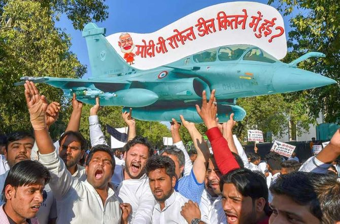 Rafale 'scam' effect: Big Business wary of funding Congress