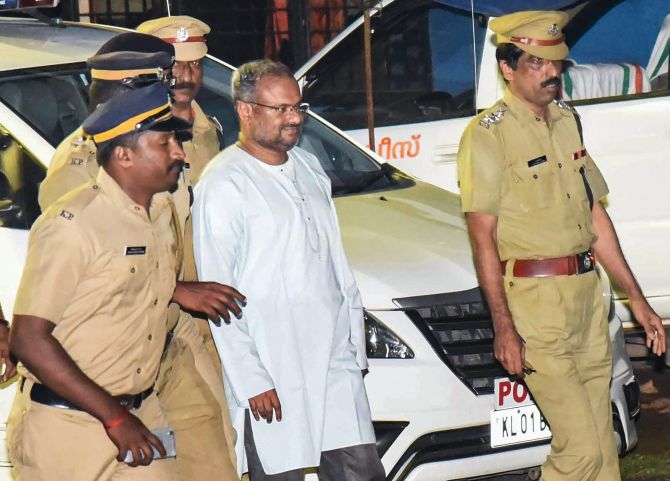 Bishop Mulakkal taken for reconstruction of crime scene