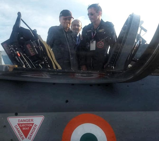 Will Tejas beat Pak, Korean jets in Malaysia? - Rediff com