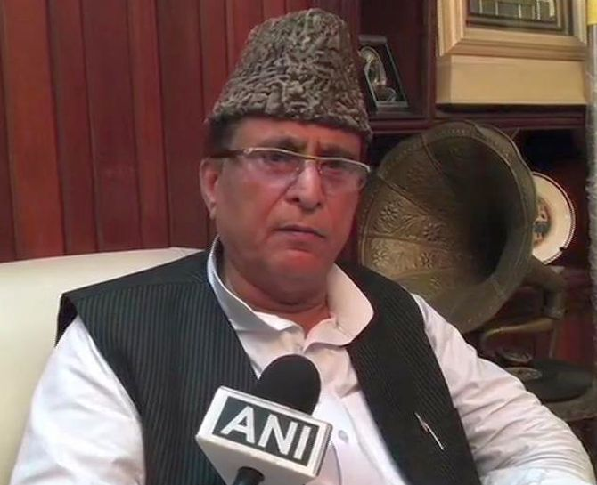 SP MP Azam Khan, wife, son sent to judicial custody
