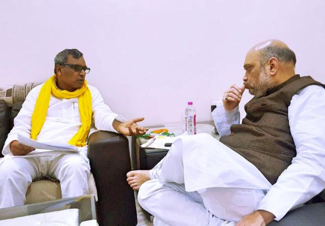 Yogi sacks Rajbhar from cabinet, minister hits back