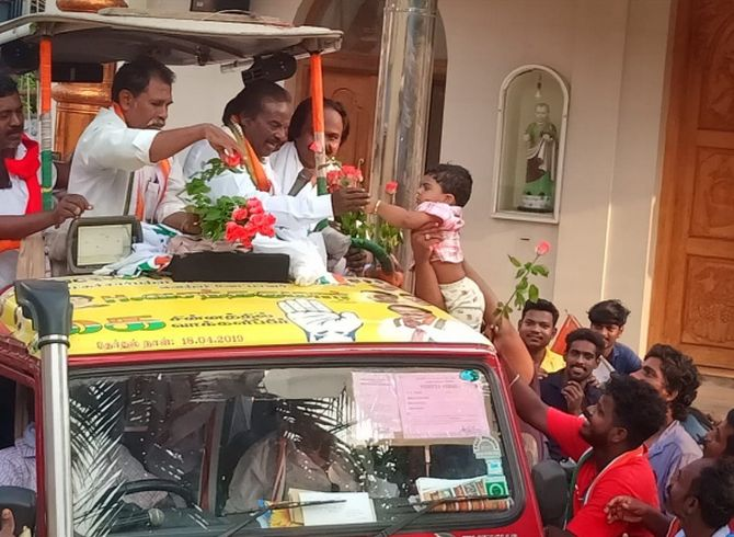 Can the lone BJP MP in TN retain his seat? - Rediff com