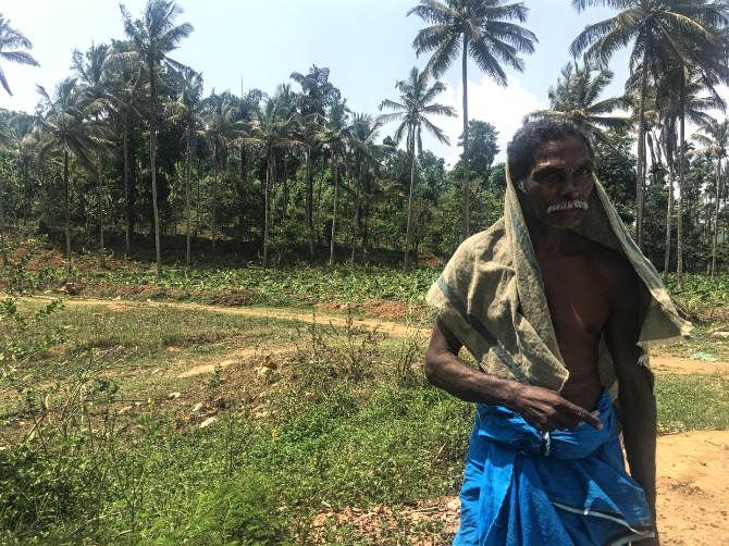A tribal in Wayanad