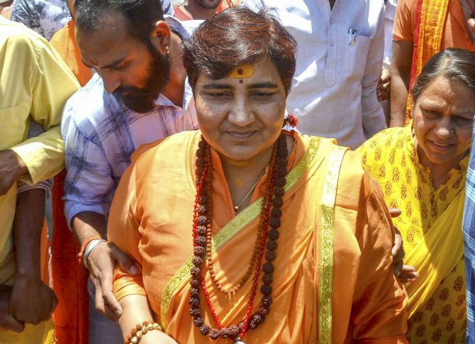 MP govt to reopen 12-yr-old murder case against Pragya