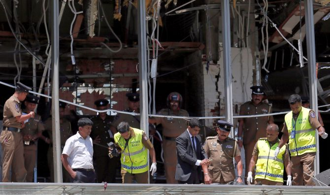 At least 6 JD-S workers killed in Colombo blasts