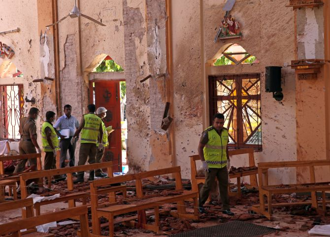 Sri Lanka bomb blasts: Vaas, Herath call for unity