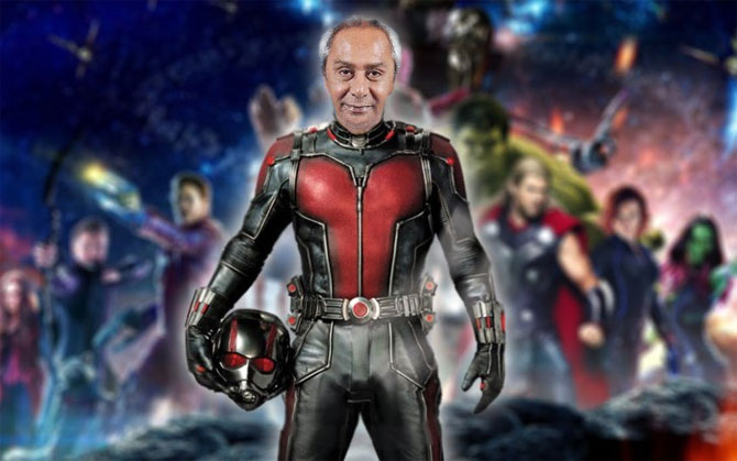 Naveen Patnaik as Ant Man