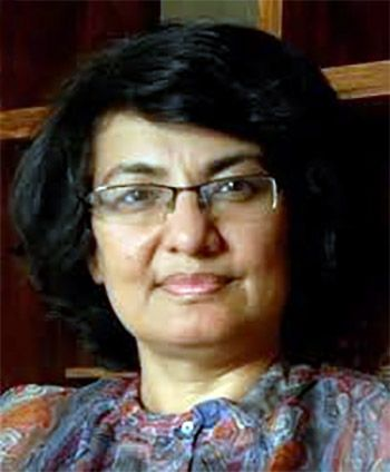 Professor Navnita Behera, Delhi University. Photograph: Courtesy Professor Navnita Behera.