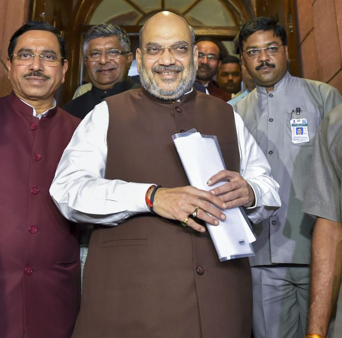Shah to table citizenship bill in Lok Sabha tomorrow