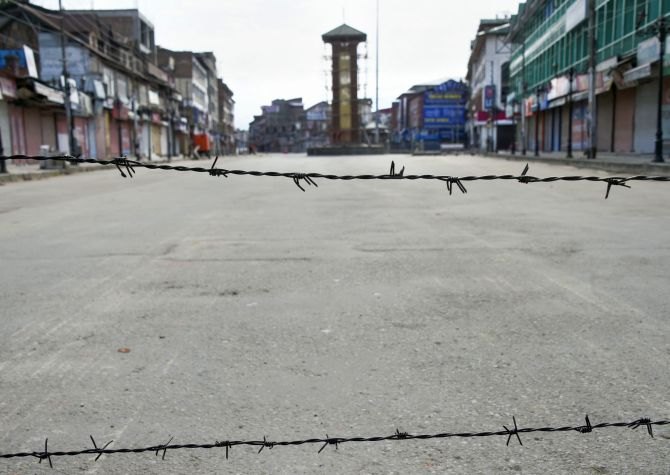 Kashmir's political atmosphere is an apocalypse