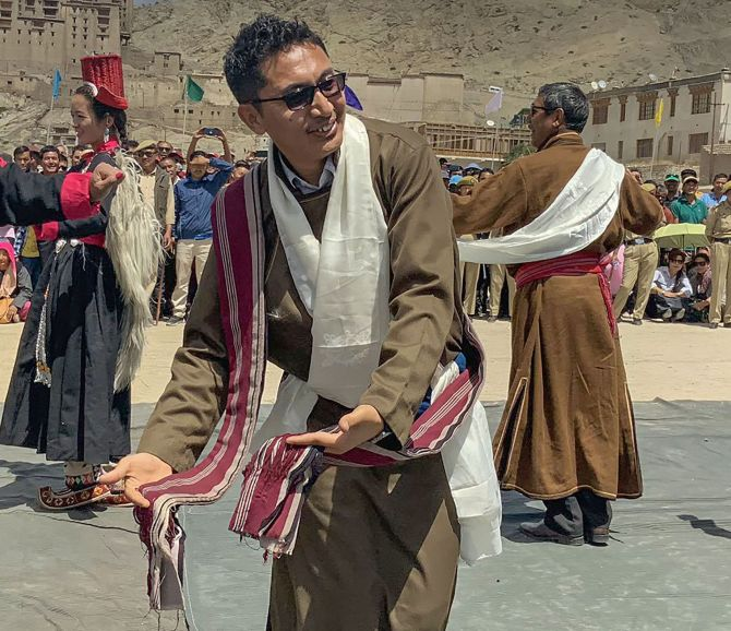Meet BJP's star MP from Ladakh
