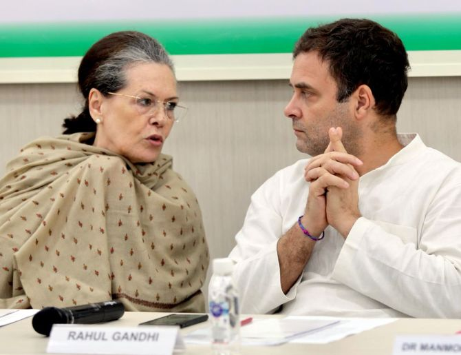 'Like Modi-Shah in BJP, Gandhis are our brand equity'