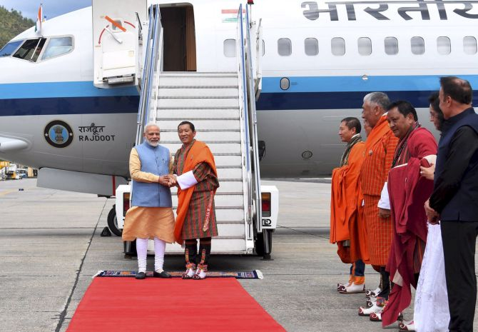 LPG to space: PM unveils slew of projects in Bhutan