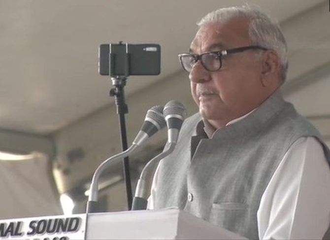 I'm a patriot first: Hooda slams Cong on Art 370 stand
