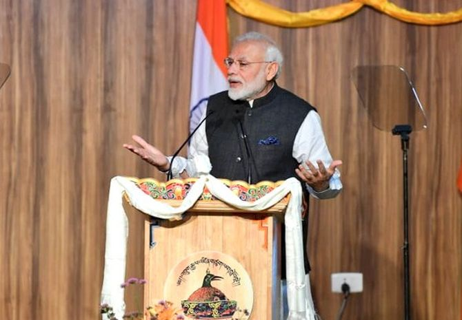 No better time to be young than now: Modi in Bhutan