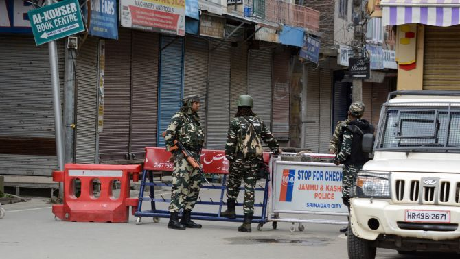 Curbs reimposed in parts of Srinagar after violence