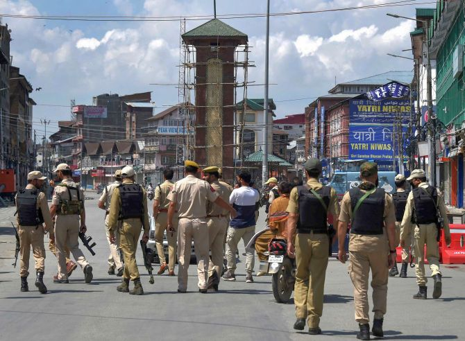 Curbs further eased in J-K; life returning to normal