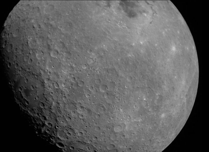 First Moon image captured by Chandrayaan-2 released