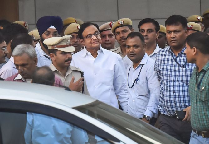 Chidambaram sent to 4-day CBI custody till Aug 26