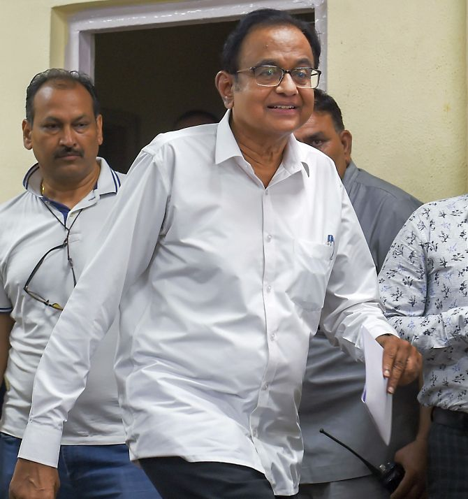 Govt, BJP have no role in Chidambaram's arrest: Min