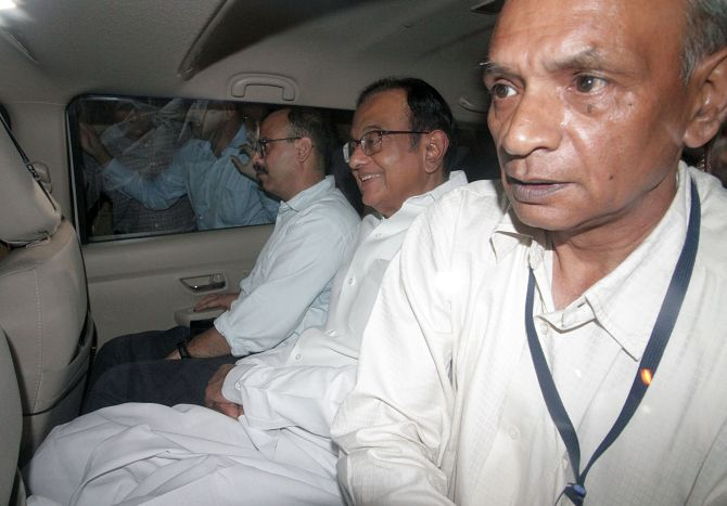 Chidambaram not the first neta to be put behind bars