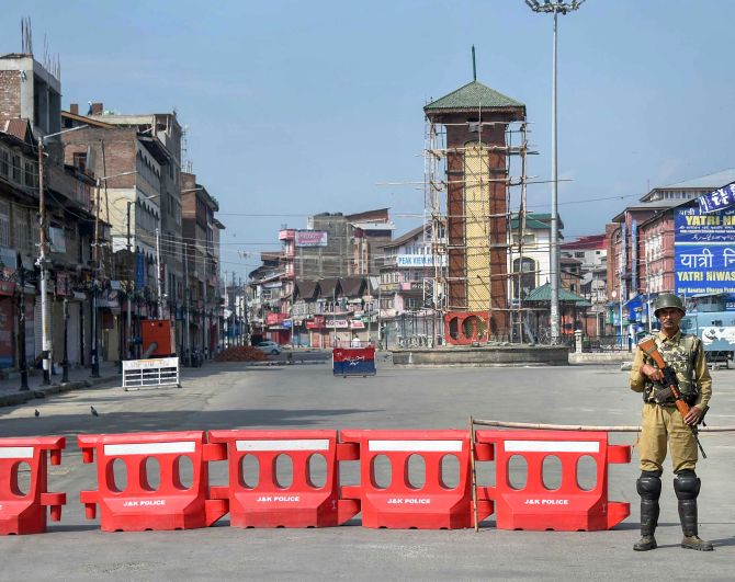 'Restrictions won't help convince people of Kashmir'