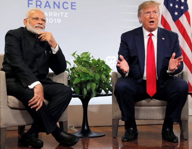 Modi not in 'good mood' over China border row:Trump