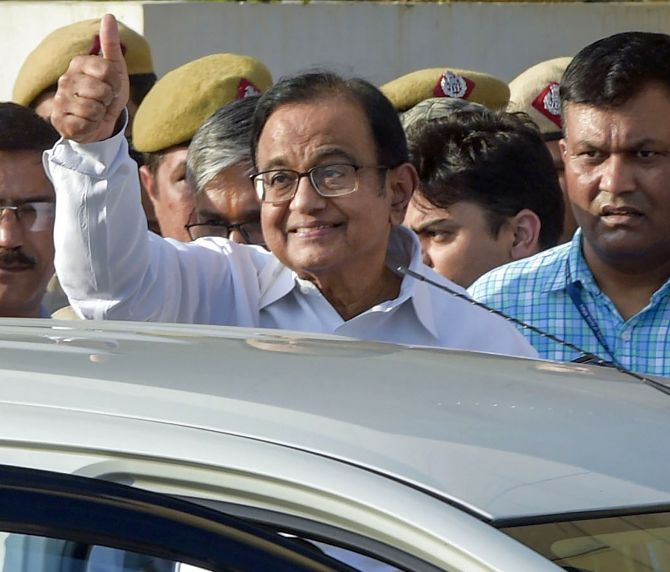 Feel 74 yrs young: Chidambaram from Tihar on his b'day
