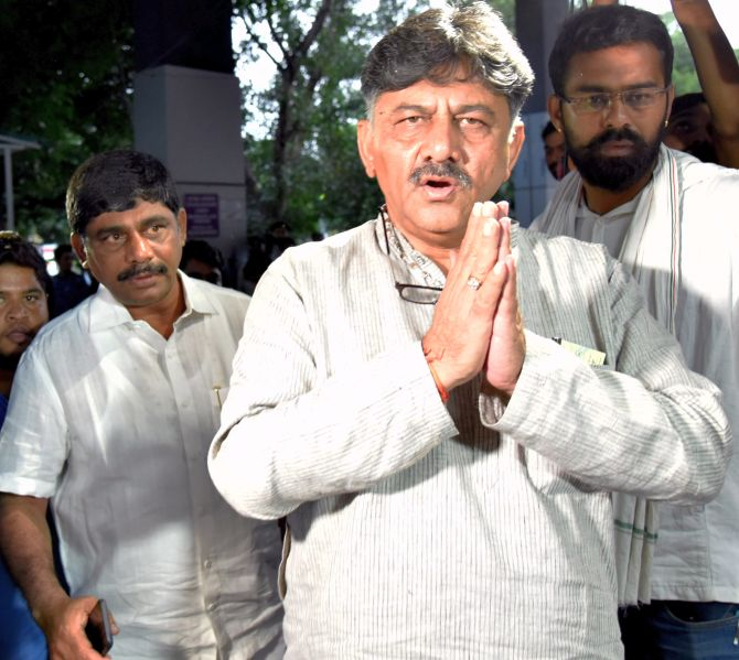 ED summons Shivakumar's daughter in PMLA case