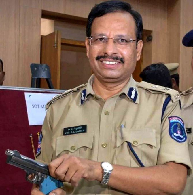 V C Sajjanar: Cop led similar encounter in Warangal