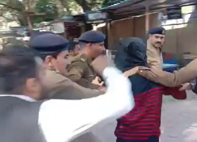 WATCH: Rape accused beaten up by lawyers in MP