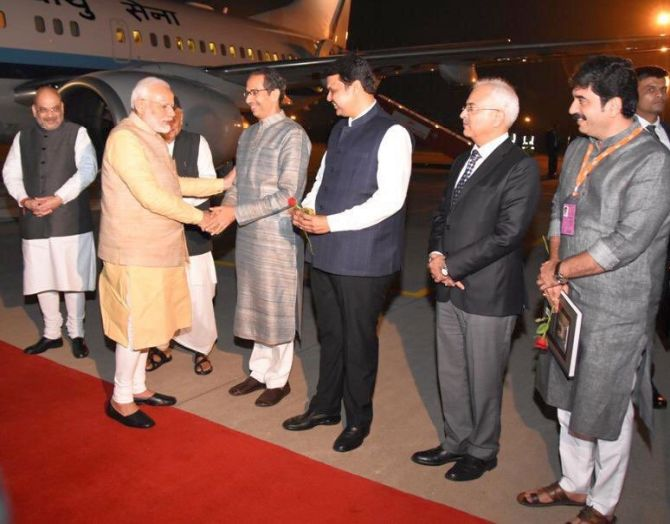 'What's wrong with Uddhav meeting the PM?'