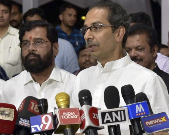 'Invisible Hindu-Muslim partition': Sena attacks CAB
