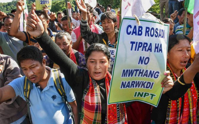 Anti-CAB protest: Tripura shuts Internet for 48 hrs