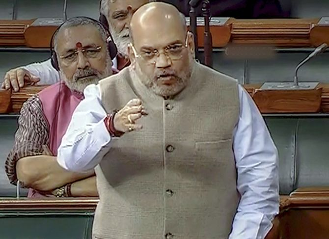 Not one bullet fired in J-K: Amit Shah in Lok Sabha