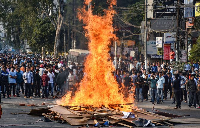 Assam on the boil: Curfew in Guwahati, Army deployed