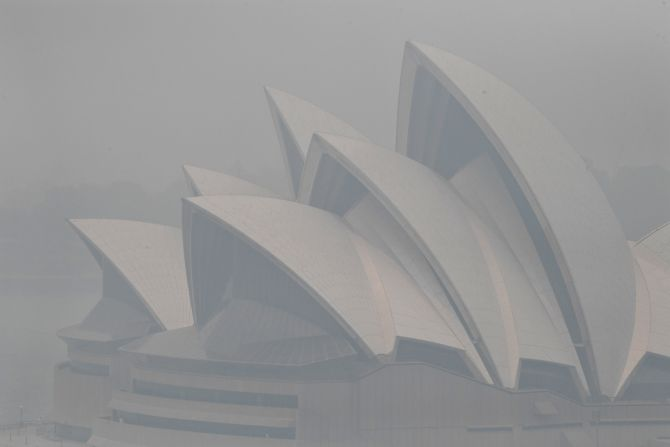 PHOTOS: Sydney's air is setting off alarms