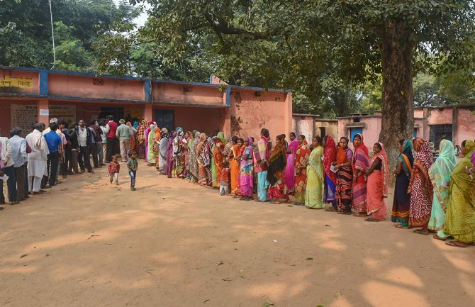 62.6% voting in third phase of Jharkhand polls