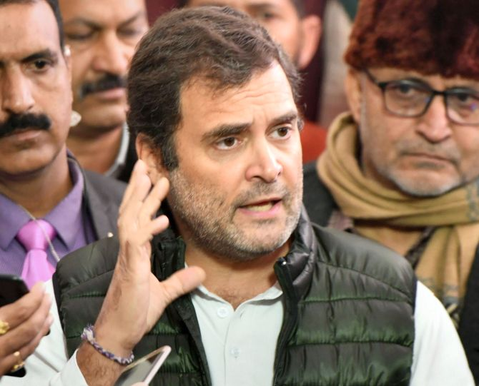 Won't apologise: Rahul on 'rape in India' remark