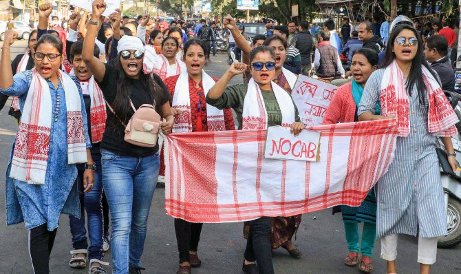 The signs that are shaping the Assam protests