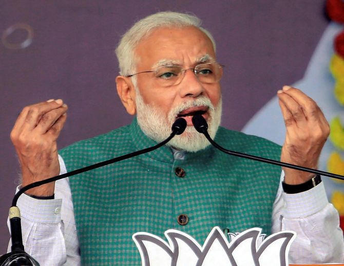 Cong, allies stoking fire over Citizenship Act: PM