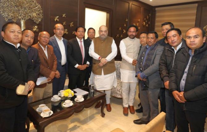 CAB: Problem in Meghalaya, says CM; HM to resolve