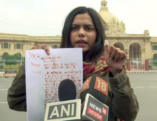 Shooter Vartika Singh offers to hang Nirbhaya convicts