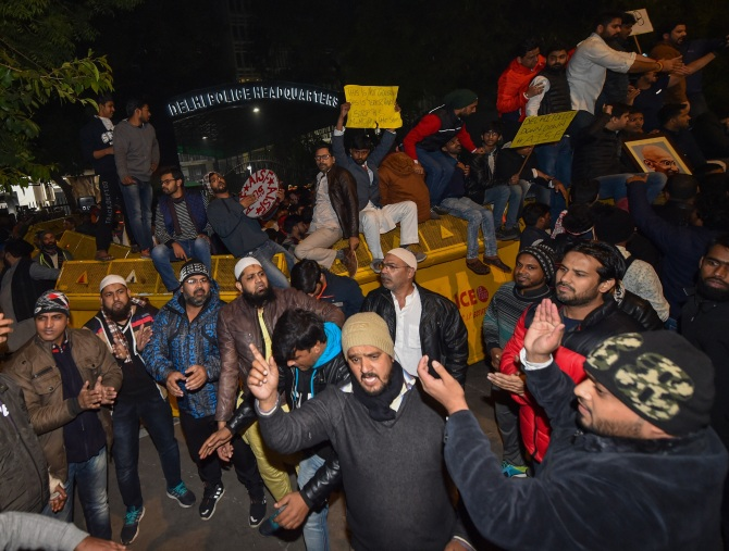 Jamia students narrate Sunday's ordeal