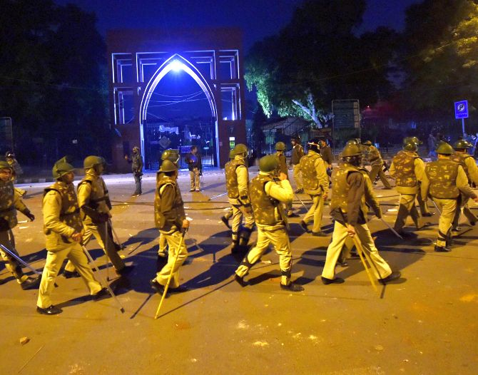 50 detained Jamia students released: Police