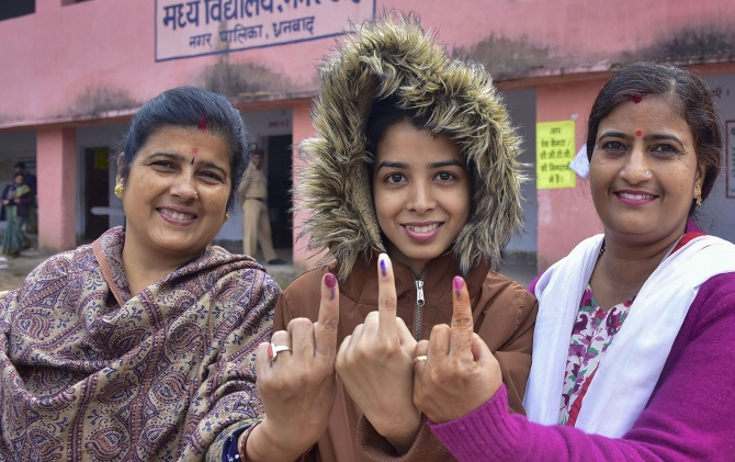 56.58% voter turnout in 4th phase of Jharkhand polls